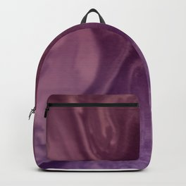 Watercolors purple and pink.Abstract Painting Backpack
