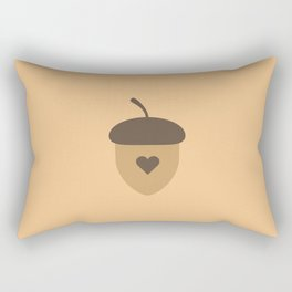 Acorn with heart T-Shirt for Women, Men and Kids Rectangular Pillow