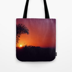 sunset in mexico Tote Bag