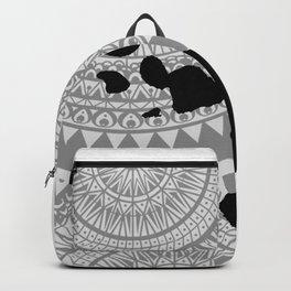 Hawaiian Islands [Tribal Illustration] Backpack