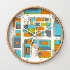 Ground #05 Wall Clock