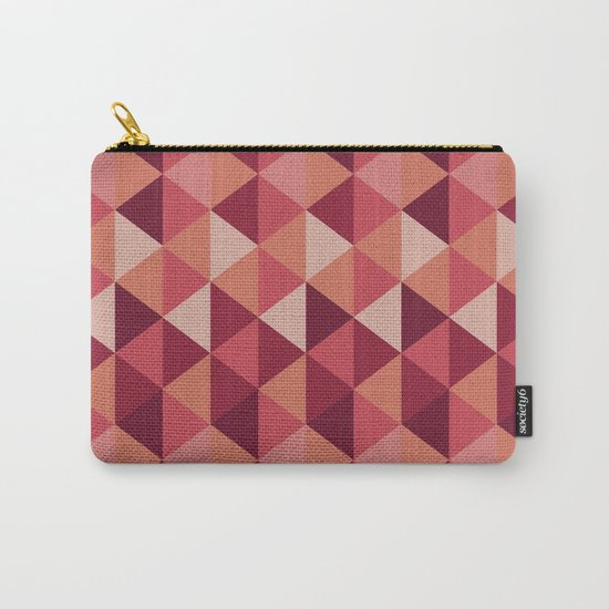 Red Mosaic  Carry-All Pouch