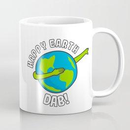 Happy Earth Day Dabbing Kids Coffee Mug