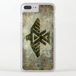 Thunderbird, Emblem of the Anishinaabe people Clear iPhone Case