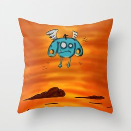 Flying Adventure Pals Throw Pillow