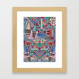 JAMBOREE M O T I F Framed Art Print