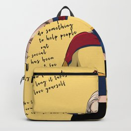 Anne Marie art and quotes Backpack