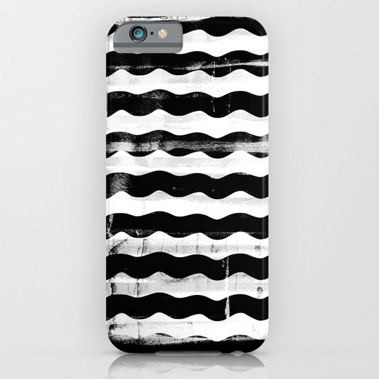Black Waves iPhone & iPod Case