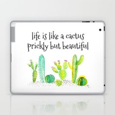 Life Is A Cactus Laptop & iPad Skin