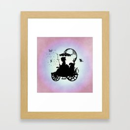 Magical Carriage Framed Art Print