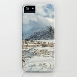 The Land of snow iPhone Case