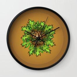 Greenman Knot Wall Clock