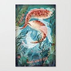 River Ramblers Canvas Print