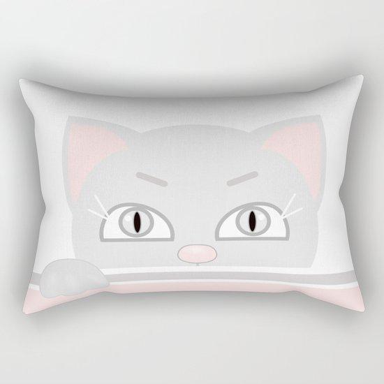 Small kitten. Rectangular Pillow