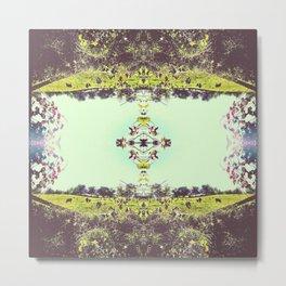 _kaleidoscope series: indiana hoosier state pride. Metal Print
