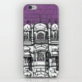 Hawa Mahal (Tyrian) iPhone Skin