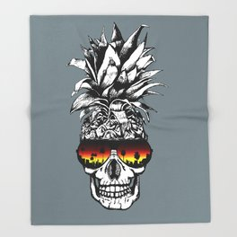 Vacay or Die Throw Blanket