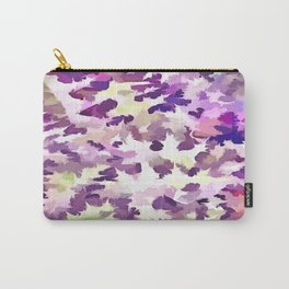 Foliage Abstract Pop Art In UltraViolet Purple and Lilac Carry-All Pouch