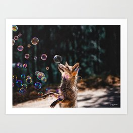 seek the magical side of the ordinary. Art Print