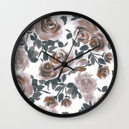 FLORAL - 18118/2 Wall Clock