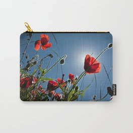 The Poppies Carry-All Pouch