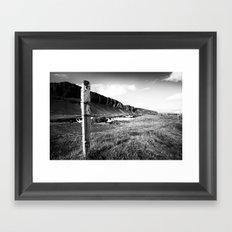 Barrier Framed Art Print