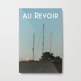 Au Revoir Metal Print