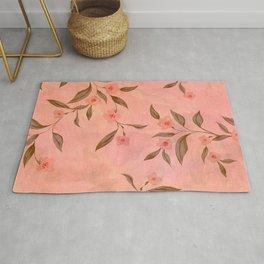 PaintedBlossom Rug