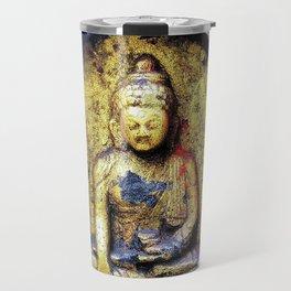 Gilded Buddha Travel Mug