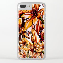 floral decorations Clear iPhone Case