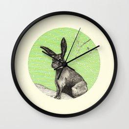 A rabbit Wall Clock