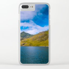 Summer in Snowdonia Clear iPhone Case