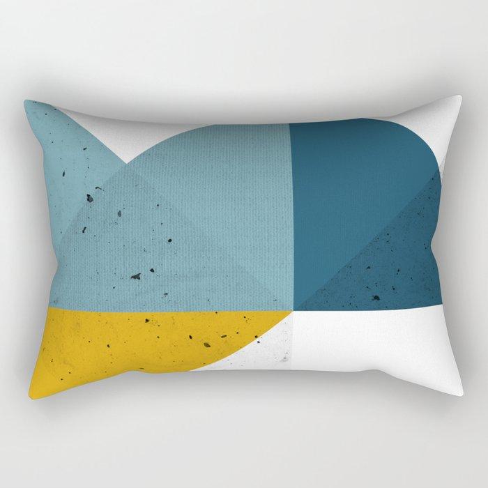 Modern Geometric 19 Rectangular Pillow