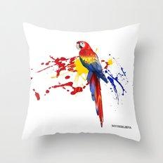 Guacamaya / Macaw Throw Pillow