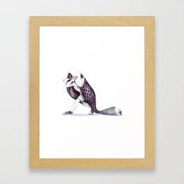 VeryBig fish Framed Art Print