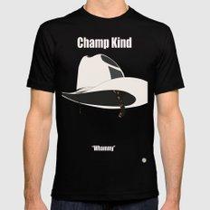 Champ Kind: Sports Black MEDIUM Mens Fitted Tee