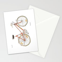 Orange Bike no 16 Stationery Cards