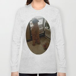 Squeaky, I found our snacks! Long Sleeve T-shirt