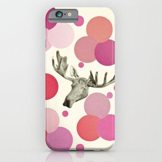 Strawberry Moose iPhone & iPod Case