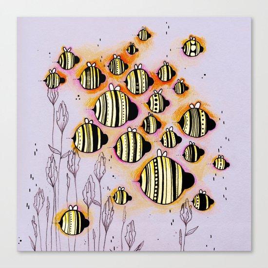 Swarm Canvas Print