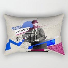 Stranger photographer Rectangular Pillow