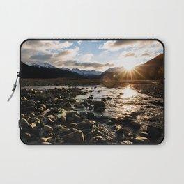 Waimakariri River Laptop Sleeve