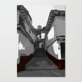 Town Alley Canvas Print