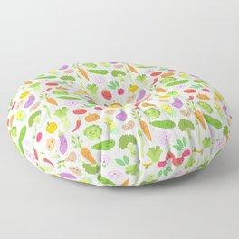 Happy Veggies Floor Pillow