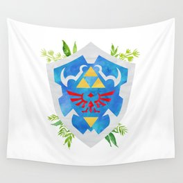 One Shield to Hyrule Them All Wall Tapestry