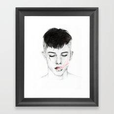 Testament. Framed Art Print