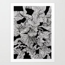 Blackness Art Print