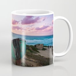 Sunset Over TLV Coffee Mug