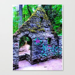 The Witches Castle Canvas Print