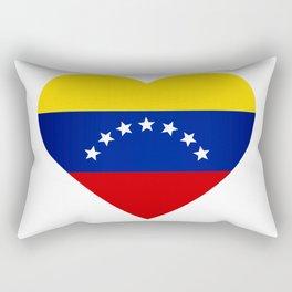 Venezuelan heart - Corazon Venezolano Rectangular Pillow